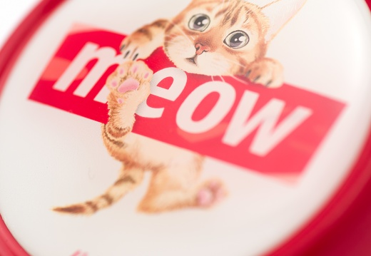 7242 A Liix-Big-Colour-Bell-Meow-Red
