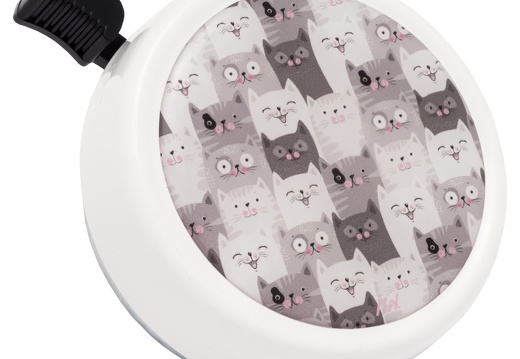 7286 Liix-Big-Colour-Bell-Cat-Crowd-White
