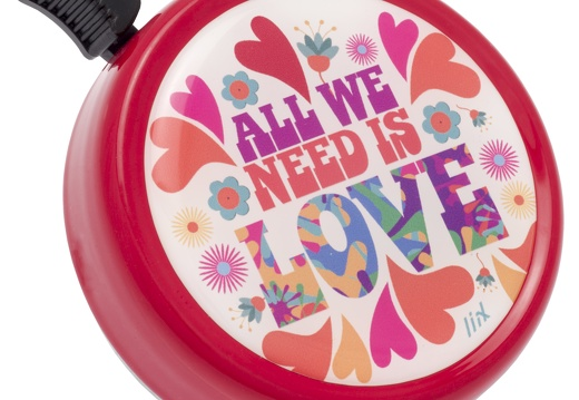 7288 Liix-Big-Colour-Bell-All-we-need-is-Love-Red